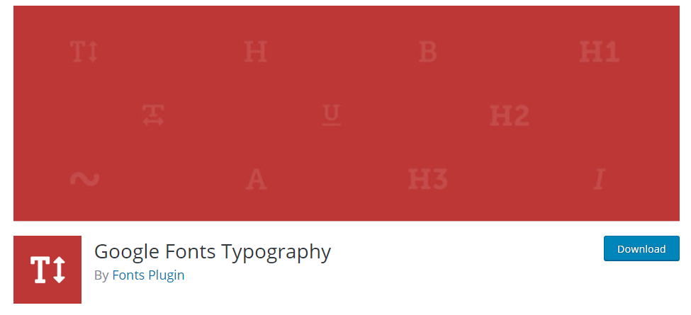 Google Fonts for WordPress