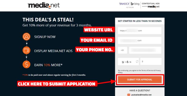 Blog monetization with media.net